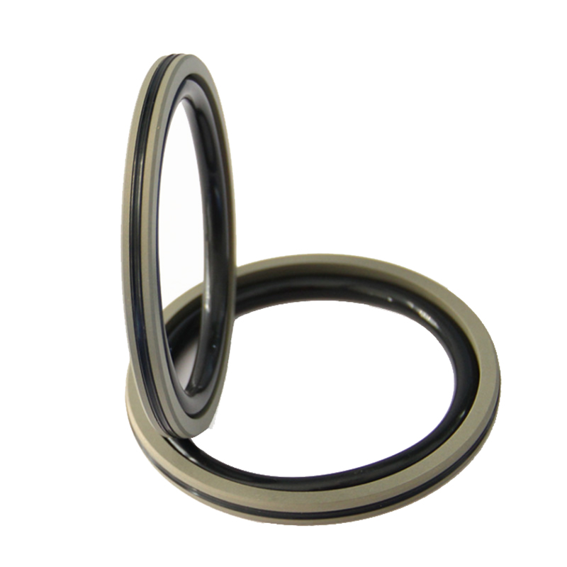 An elastic hydraulic seal ring for industrial leather?